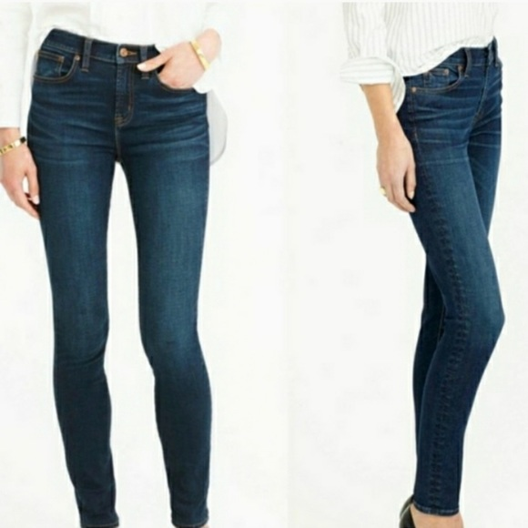 SOLD J. Crew Toothpick Skinny Jeans Size 27